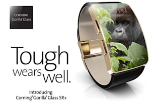 Corning's latest Gorilla Glass will make wearables tougher