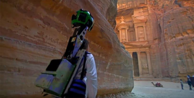 Google Street View gives you a tour of ancient Jordan landmarks