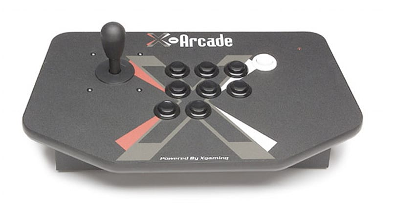 X-Arcade's rugged Solo Joystick: supports PC, Mac, Linux and nine gaming consoles