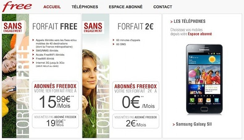 France ISP Free builds its own cellular network, offers free service to subscribers