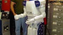 ATOM-7xp humanoid robot is indeed Atom-powered, Windows-based