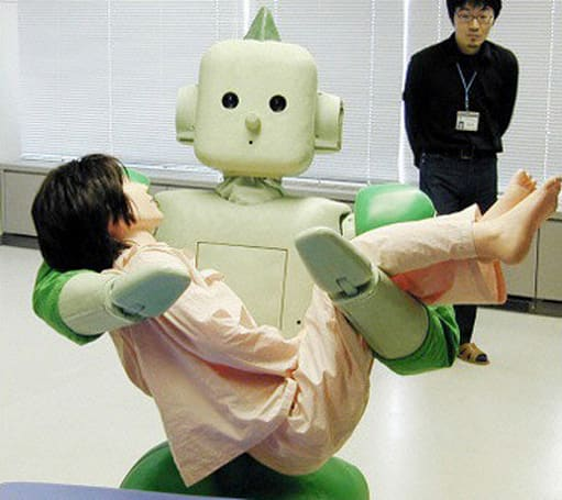Japanese seniors shun their robotic overlords
