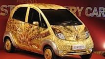 There is now a $4.6 million Tata Nano made of gold