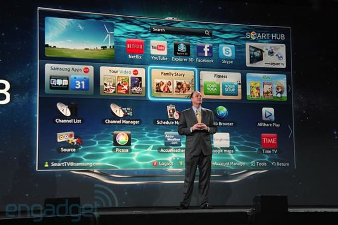 Samsung has Smart TVs with dual core CPUs, cameras and more