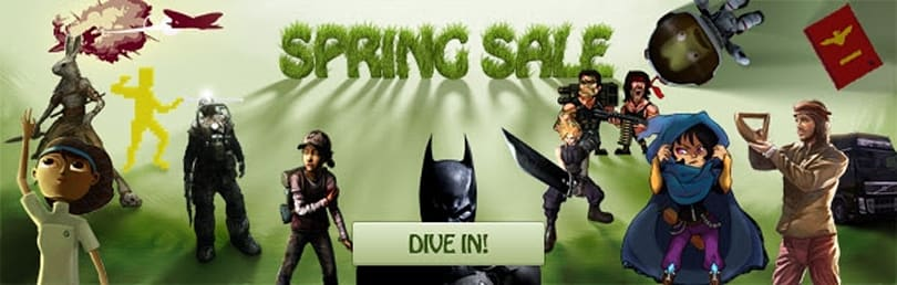 Humble Store Spring Sale knocks 90% off some games