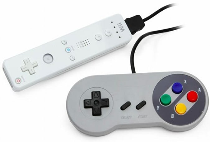 ThinkGeek selling SNES-style Wii Classic Controller