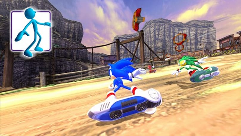 Sonic Free Riders hits Games on Demand