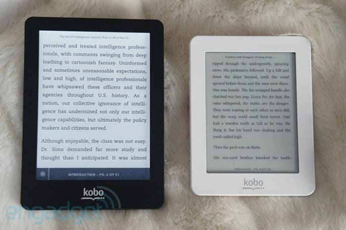 Hands-on with Kobo's Glo and Mini e-readers (video)