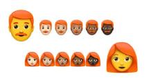 Kommen bald rothaarige Emojis?