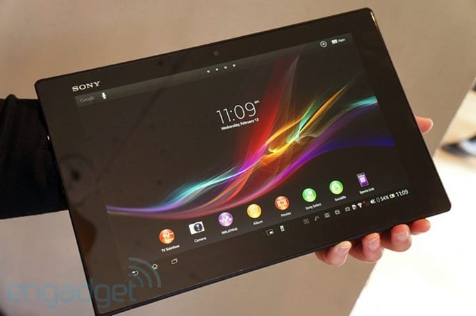 Sony Xperia Tablet Z preview: a thin and light 10-inch Android Jelly Bean tablet