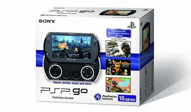 PSP Go '3-Game Digital Pack' going for $150 'while supplies last'
