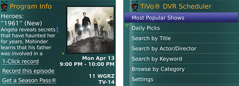 TiVo for BlackBerry now available, remotely schedules recordings with BlackBerry-like efficiency