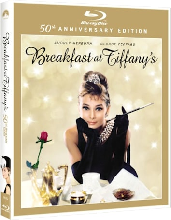 Breakfast at Tiffany's 50th Anniversary Blu-ray will be released September 20th