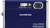 Olympus' new trio touts 10 megapixel Stylus 1050 SW with motion sensitive Tap Control