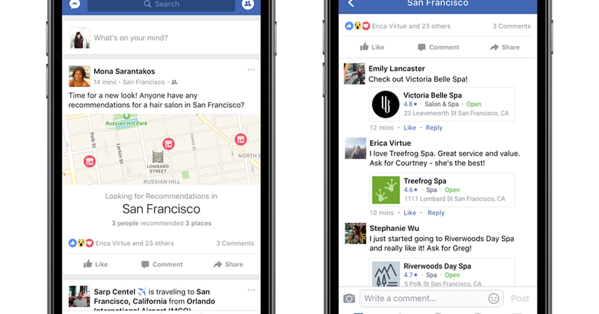 Facebook's Friend-based Recommendations Come to the UK
