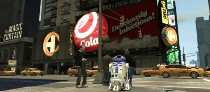 GTA IV mod has R2-D2 destroying Liberty City