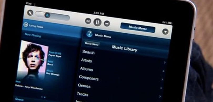 Sonos Controller for iPad: multi-room music dictation, supersized