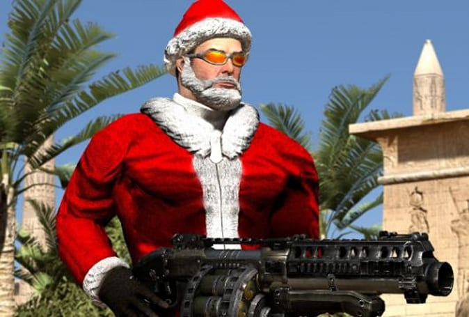 Serious Sam 3 gets free Serious Santa multiplayer skin for the holidays