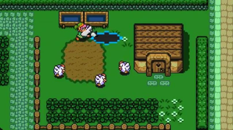 Link to the Past with a Portal Gun is better than without a portal gun