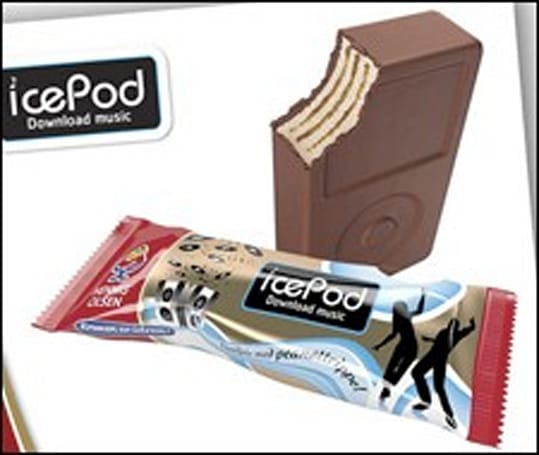 Taking it too far: Ice Pod ice cream bars