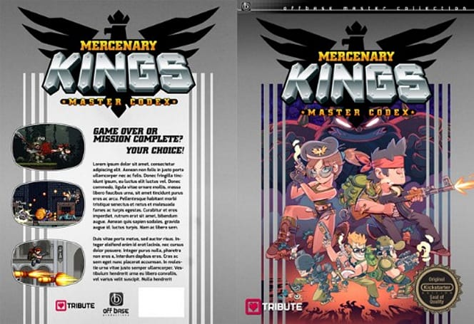 Mercenary Kings strategy guide could conquer your coffee table