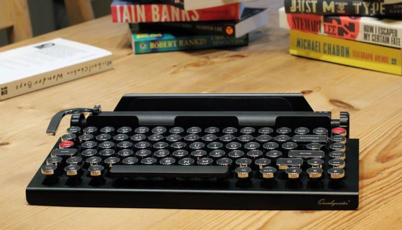 Qwerkywriter's retro iPad keyboard is a flawed masterpiece