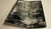 I guess you can bend an iPad in half after all