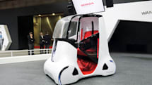 Honda's latest mobility vehicle has space for two passengers