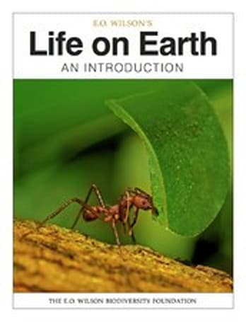 iBooks 2 showcased with preview of E.O. Wilson biology textbook