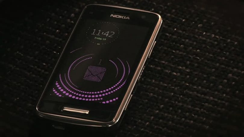 Nokia Sleeping Screen: soothing low power notification for Symbian