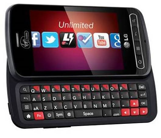 Virgin Mobile announces LG Optimus Slider, sneakily postpones data throttling until 2012