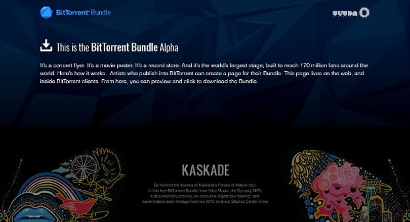BitTorrent launches 'Bundle' media format with Ultra Music partnership