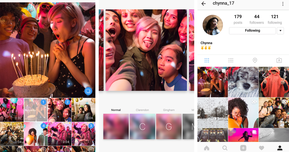Instagram's Carousel-style Photo Sets are Now Available to all
