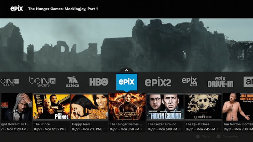 Sling TV shows off its improved guide for the Xbox One