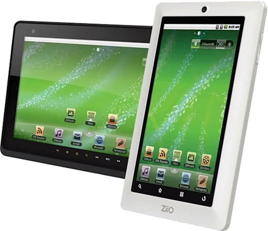 Creative Ziio 7- and 10-inch Android tablets say 'me too'