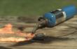 Superzeitlupe: Explodierende Batterien