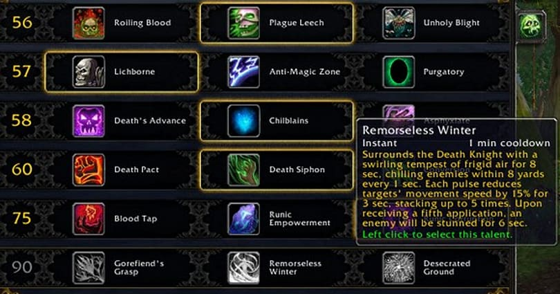 Lichborne: 3 quick fixes death knights need for Mists of Pandaria