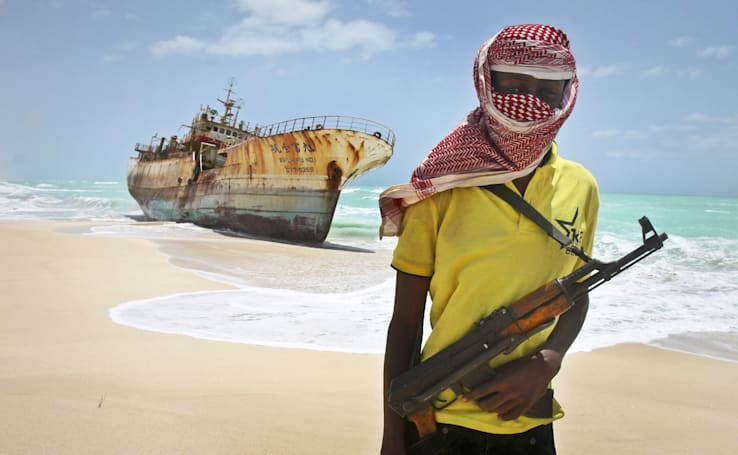 Pirates hacked a shipping firm to find boats to raid