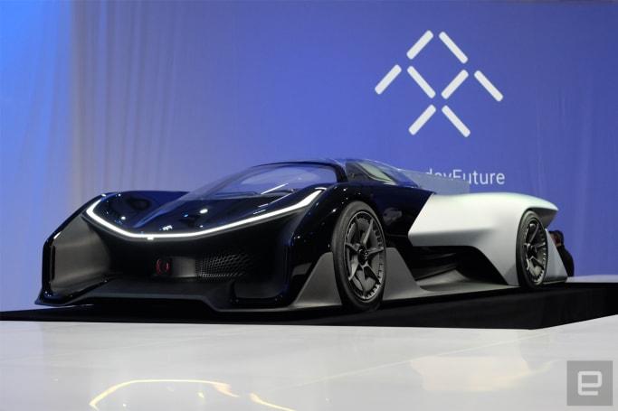 Faraday Future unveils its FFZero 1 supercar of the future