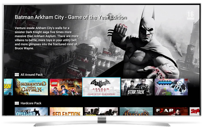 LG Smart TV owners can soon stream Gamefly titles