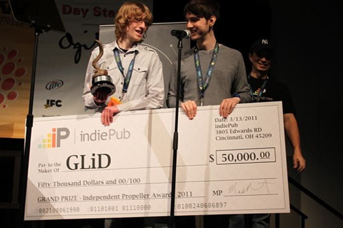GLiD wins Independent Propeller Award at SXSW