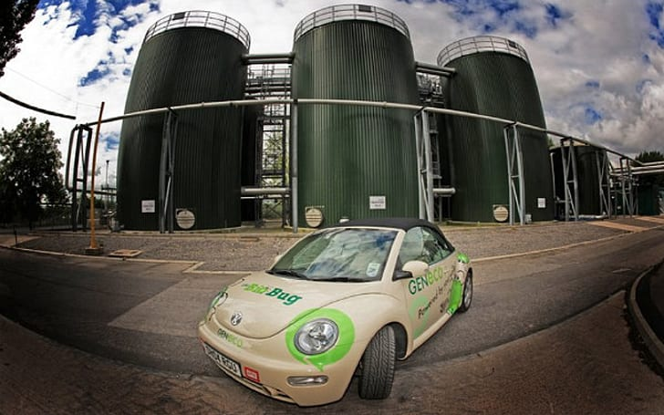 Volkswagen Beetle converted to run on methane headed for the UK streets