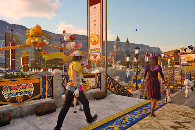 'Final Fantasy XV' kicks off a limited-time carnival event
