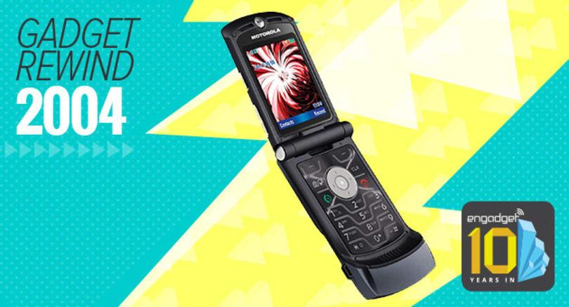 Gadget Rewind 2004: Motorola RAZR V3