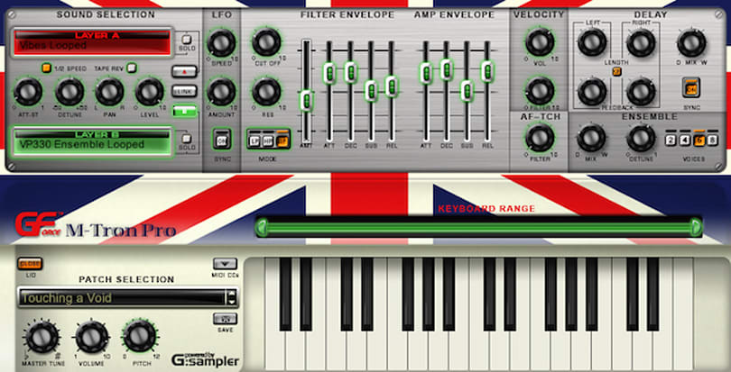 Making music on the Mac with GForce M-Tron Pro synth