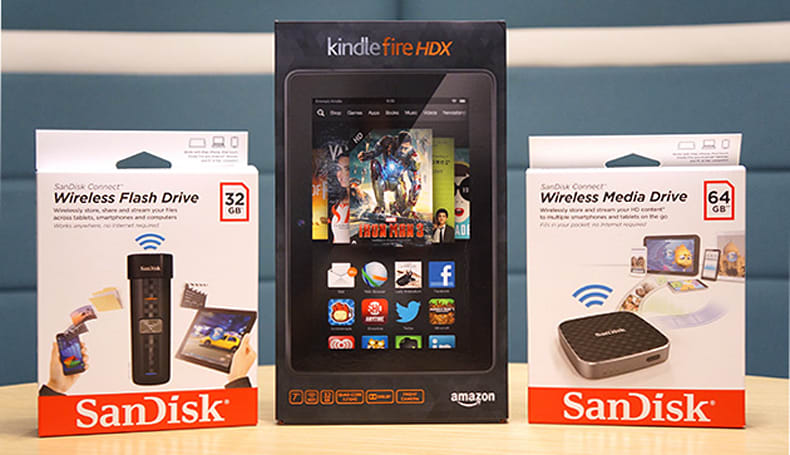Engadget Giveaway: win one of two Kindle Fire HDX tablets courtesy of SanDisk!