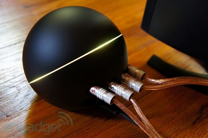 Nexus Q starts shipping in earnest from Google Play, social streaming reaches our doors in five days