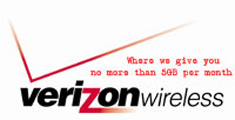 Verizon Wireless raises PDA data / voice bundle prices