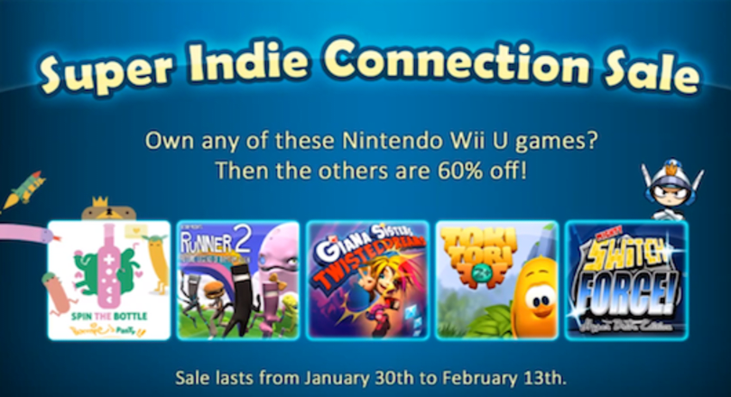 Wii U indie eShop sale offers buy one, get others 60 percent off deal