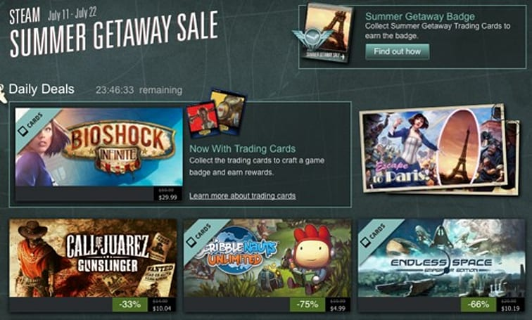 Steam Sales Tracker makes it easier to spend cash in the Summer Sale